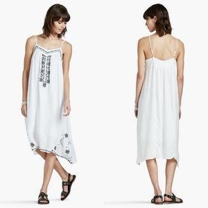 Lucky Brand Boho Embroidered Dress